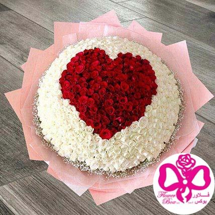 SOFT Heart bouquet